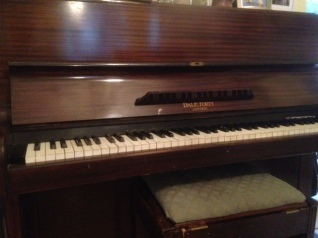 My great grandmother's piano