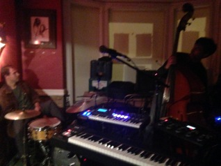 Rehearsing with James at The Lighthouse